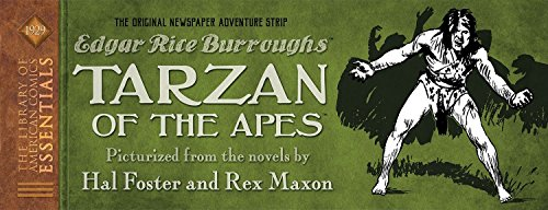 LOAC Essentials Volume 7: Tarzan The Original Dailies: Maxon, Rex