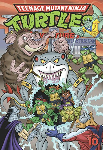 9781631403842: Teenage Mutant Ninja Turtles Adventures Volume 10