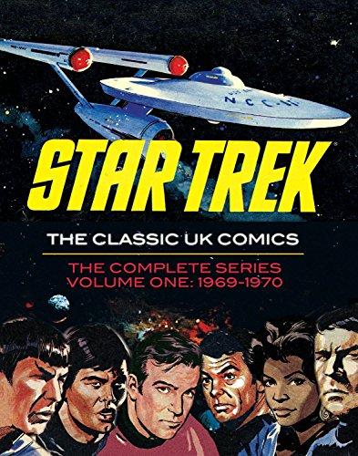 Star Trek the Classic Uk Comics Volume 1 (Hardcover): Jim Baikie