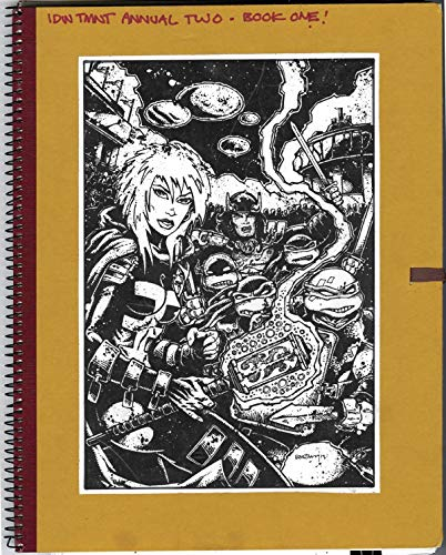 9781631405228: Teenage Mutant Ninja Turtles: The Kevin Eastman Notebook Series: 2014 Annual