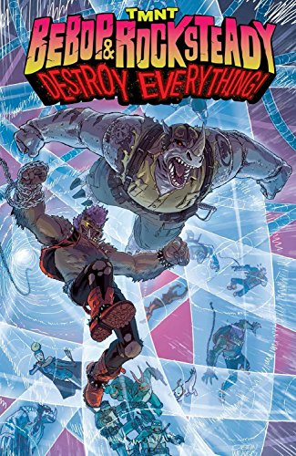9781631407147: Teenage Mutant Ninja Turtles: Bebop & Rocksteady Destroy Everything
