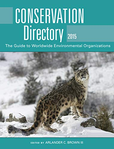 Conservation Directory 2015 (Paperback): Brown