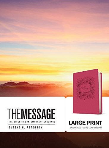 9781631466762: The Message Large Print: The Bible in Contemporary Language