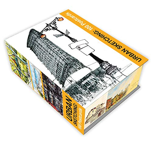 9781631590214: Urban Sketching: 100 Postcards: 100 Beautiful Location Sketches from Around the World