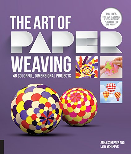 9781631590399: The Art of Paper Weaving: 46 Colorful, Dimensional Projects--Includes Full-Size Templates Inside & Online, Plus Practice Paper for One Project