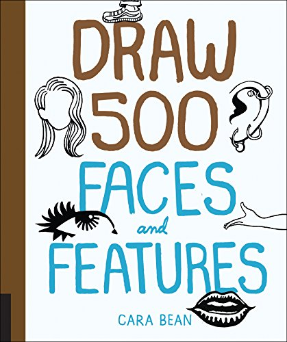 Draw 500 Faces and Features: Bean, Cara