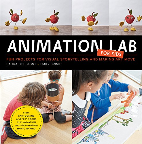 9781631591181: Animation Lab for Kids: Fun Projects for Visual Storytelling and Making Art Move - From cartooning and flip books to claymation and stop-motion movie making (Lab Series)