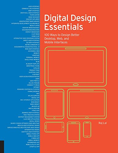 9781631593635: Digital Design Essentials: 100 ways to design better desktop, web, and mobile interfaces