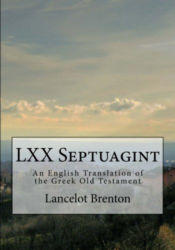 9781631740510: LXX Septuagint: An English Translation of the Greek Old Testament