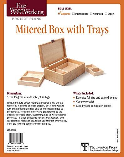 Fine Woodworking's Mitered Box With Trays: Kenney, Matt