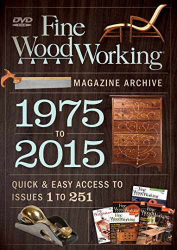 9781631865961: Fine Woodworking 2015 Magazine Archive