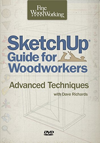 9781631866517: Sketchup® Guide for Woodworkers: Advanced Techniques