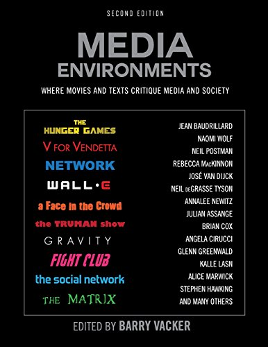 9781631890024: Media Environments: Where Movies and Texts Critique Media and Society (Second Edition)