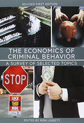 9781631892240: The Economics of Criminal Behavior: A Survey of Selected Topics
