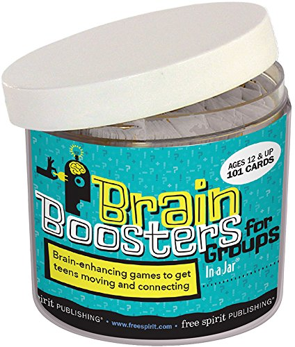 9781631980763: Brain Boosters for Groups In a Jar: 101 brain-enhancing games to get teens moving and connecting