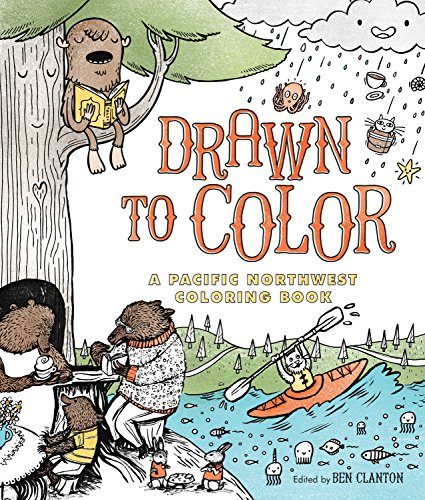Drawn to Color: A Pacific Northwest Coloring