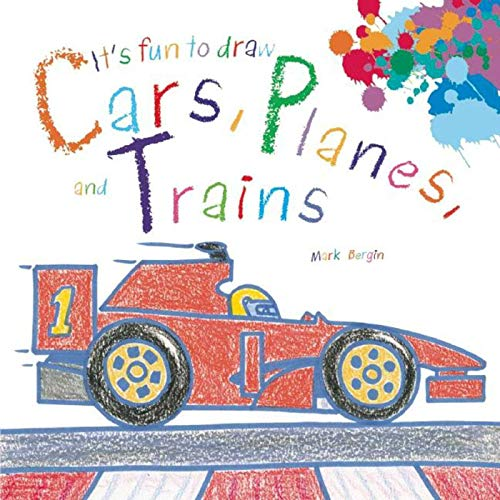 9781632204103: It's Fun to Draw Cars, Planes, and Trains