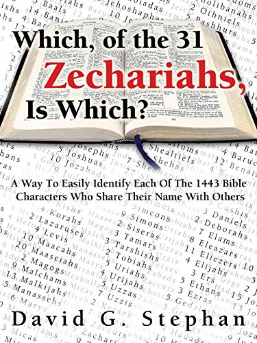 9781632327154: Which, of the 31 Zechariahs, Is Which?
