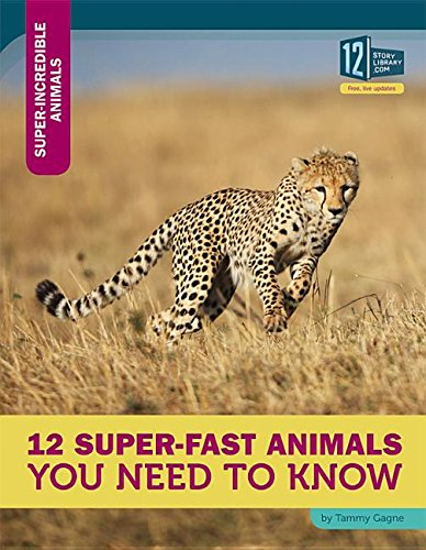 9781632351371: 12 Super-Fast Animals You Need to Know (Super-Incredible Animals)