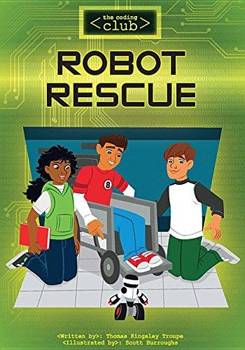 9781632352316: Robot Rescue (Coding Club)