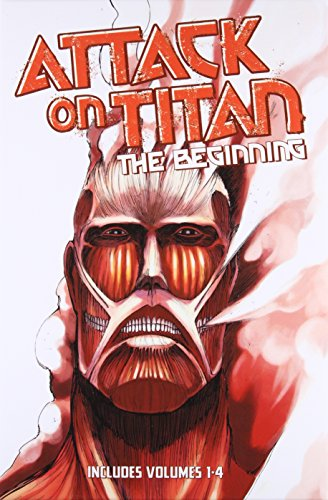 9781632360380: Attack on Titan: The Beginning Box Set (Volumes 1-4)