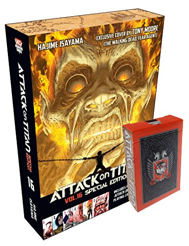 9781632361868: Attack on Titan 16 Special Edition with Playing Cards