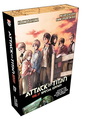 9781632362827: Attack on Titan 17 Special Edition w/DVD