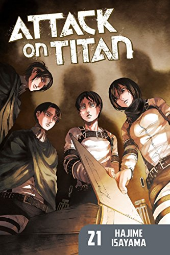 Attack on Titan 21 (Paperback or Softback)