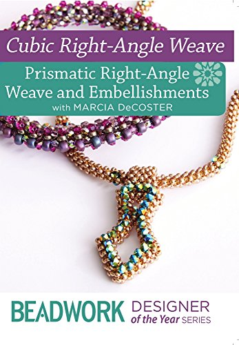 9781632503275: Cubic Right-Angle Weave - Prismatic Right-Angle Weave & Embellishments