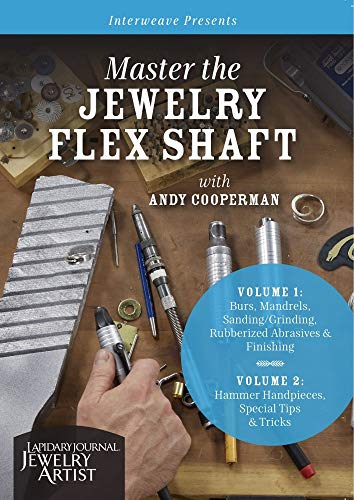 9781632505880: Master the Jewelry Flex Shaft with Andy Cooperman