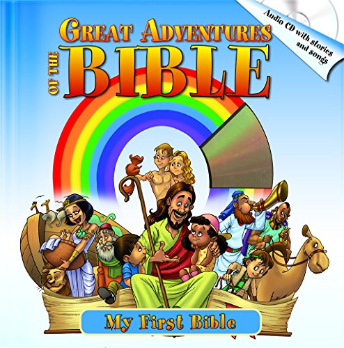 Great Adventures of the Bible: Best Bible Stories, Including Audio CD with Stories & Songs (My ...