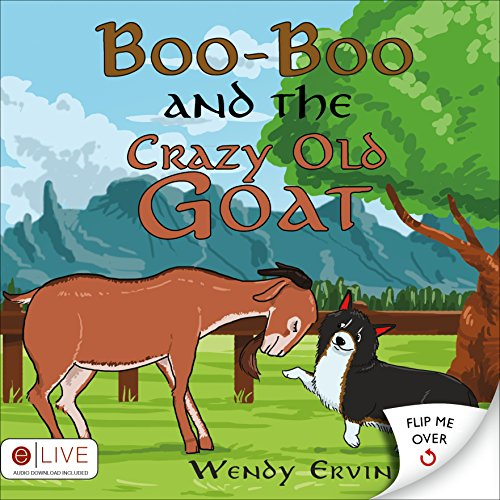 9781632682895: Boo-Boo and the Crazy Old Goat / Boo-Boo and the Wild Turkeys: eLive Audio Download Included: Flip Book