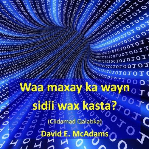 Waa maxay ka wayn sidii wax kasta?: David E. McAdams