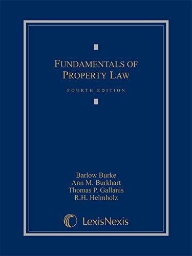 9781632809773: Fundamentals of Property Law (2015)