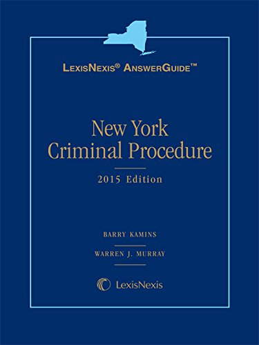 9781632810427: LexisNexis Answer Guide New York Criminal Procedure