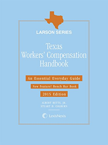 9781632813039: Texas Workers' Compensation Handbook (2015)