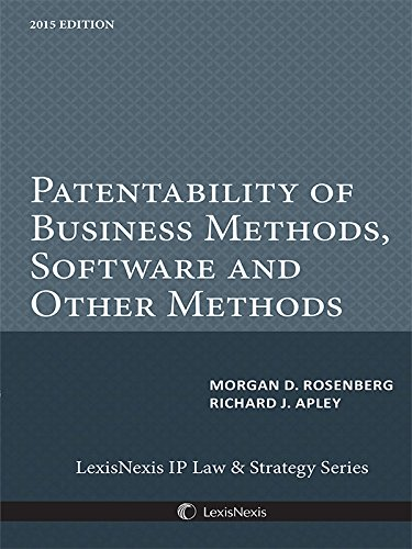 9781632818911: Patentability of Business Methods, Software and Other Methods