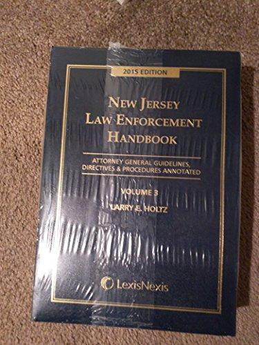 9781632824387: NJ Law Enforcement Handbook 2015 Edition w/ CD