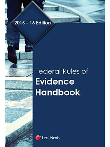 9781632824738: Federal Rules of Evidence Handbook (2015-2016)