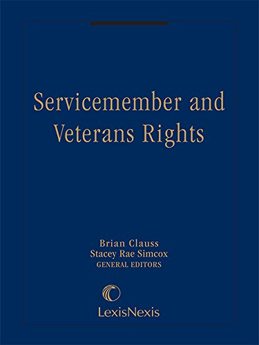 9781632838513: Servicemember and Veterans Rights (2015)