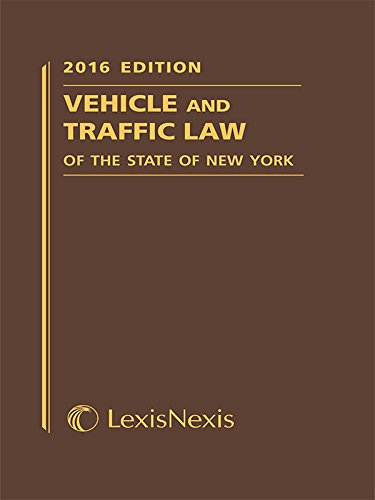9781632844071: Vehicle and Traffic Law of the State of New York (Softcover) (Vehicle and Traffic Law of New York)