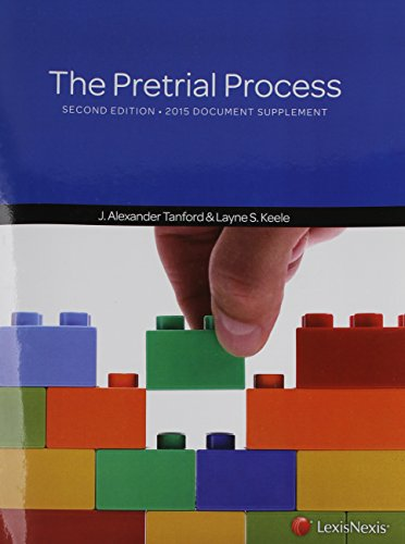 9781632845085: The Pretrial Process, Document Supplement