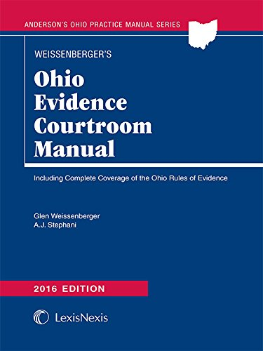 9781632846310: Ohio Evidence Courtroom Manual