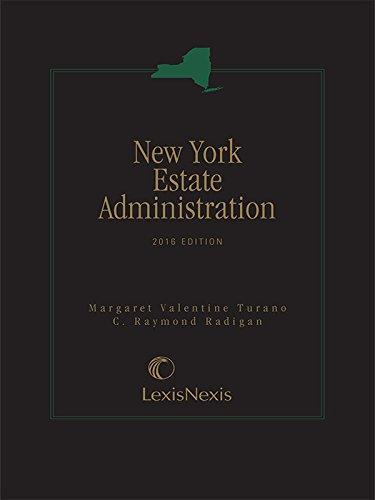 9781632846556: New York Estate Administration
