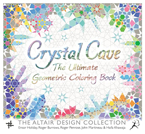 9781632866271: Crystal Cave: The Ultimate Geometric Coloring Book