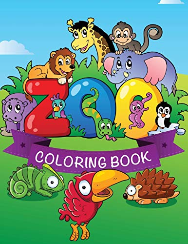 9781632873927: Zoo Coloring Book