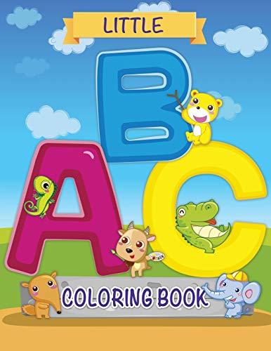 9781632874269: Little ABC Coloring Book