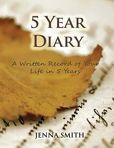 9781632877987: 5 Year Diary: A Written Record of Your Life in 5 Years