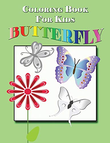 9781632879363: Coloring Book for Kids: Butterfly