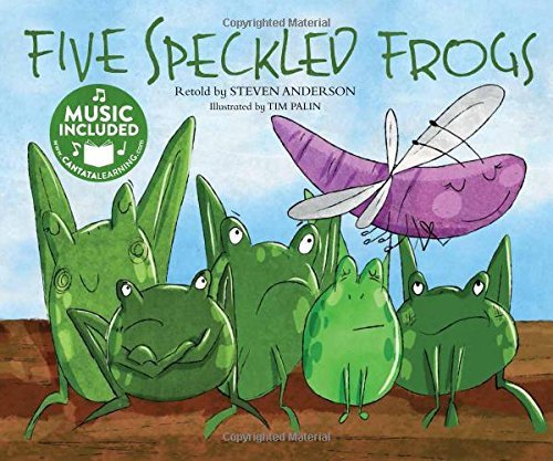 Five Speckled Frogs (Sing-along Math Songs): Anderson, Steven